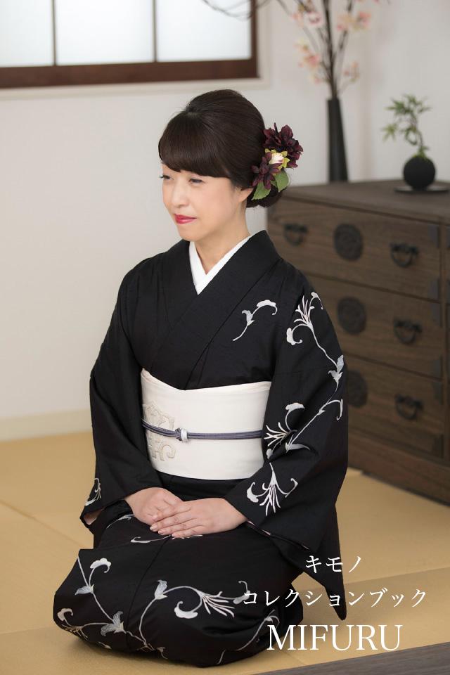 YS夫人 牛首紬 加賀友禅 訪問着×京繡 名古屋帯